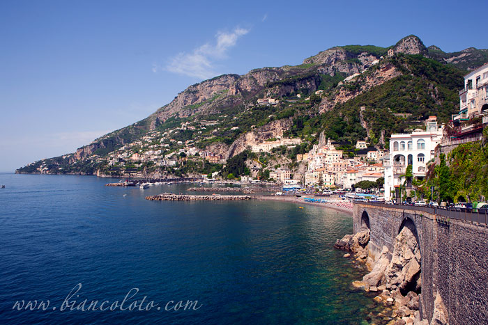 Amalfi самое красивое побережье италии