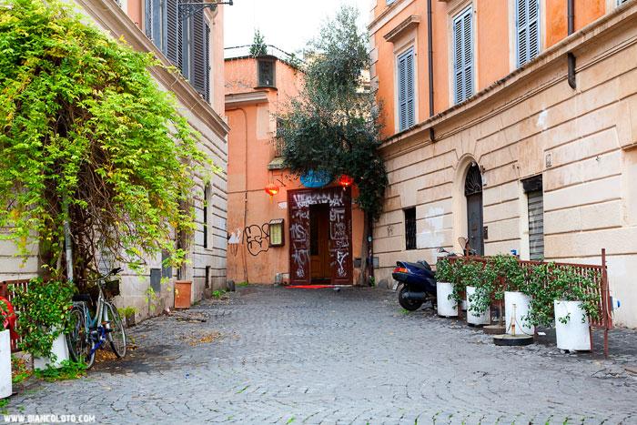 Трастевере рим италия