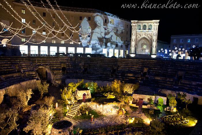 Италия piazza sant oronzo лечче апулия италия