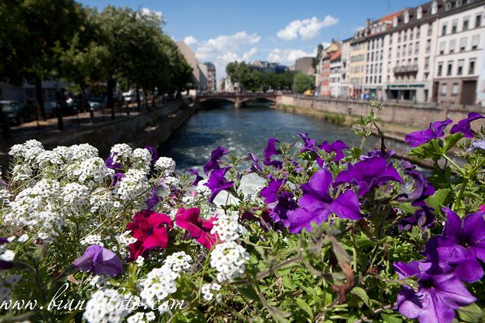 Вид с моста. Страсбург