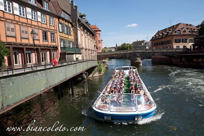Прогулка на катере. Страсбург